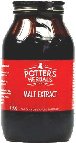 Potter's Malt Extract Paste 650g