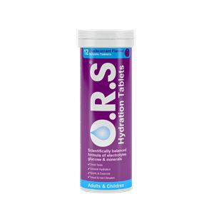 O.R.S Hydration Tablets Blackcurrant Pack of 12