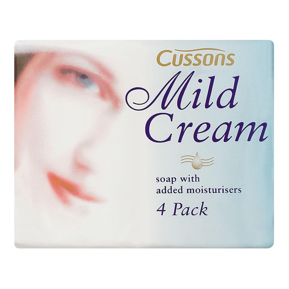 Cussons Mild Cream Soap 90g Pack of 4