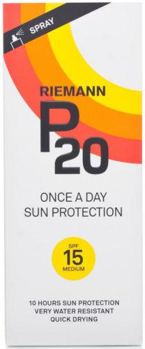 Riemann P20 Sun Filter Spray SPF15 200ml