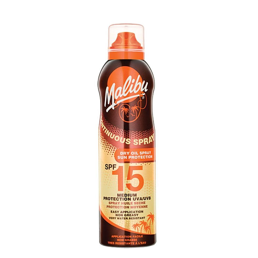 Malibu Continuous Lotion Spray SPF15  175ml