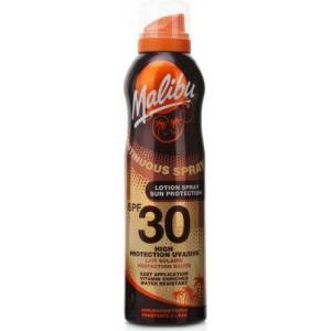 Malibu Continuous Lotion Spray SPF30 175ml