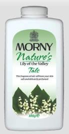 Morny Nature's Lily of the Valley Talc 100g