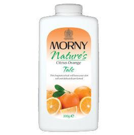 Morny Nature's Citrus Orange Talc 100g