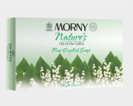 Morny Nature's Lily Of The Valley Soap 100g Pack of 3