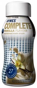 Aymes Complete Vanilla Flavour 200ml Pack of 4