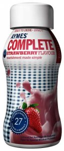 Aymes Complete Strawberry Flavour 200ml Pack of 4