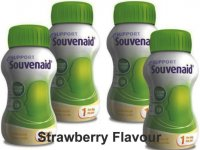 Souvenaid One A Day Strawberry Flavour 125ml Pack of 4
