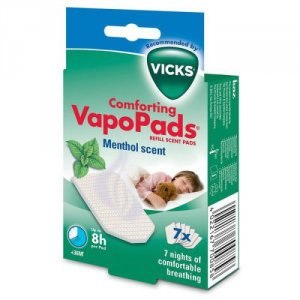 Vicks Comforting VapoPads Menthol Scent Pack of 7