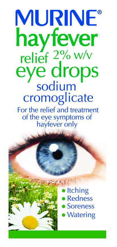 Murine Hayfever Relief Eye Drops 10ml