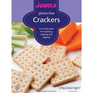 Juvela Gluten Free Crackers 125g