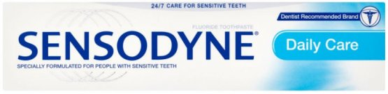 Sensodyne Daily Care Fluoride Toothpaste 50ml