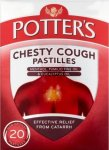 Potters Chesty Cough Pastilles Pack of 20