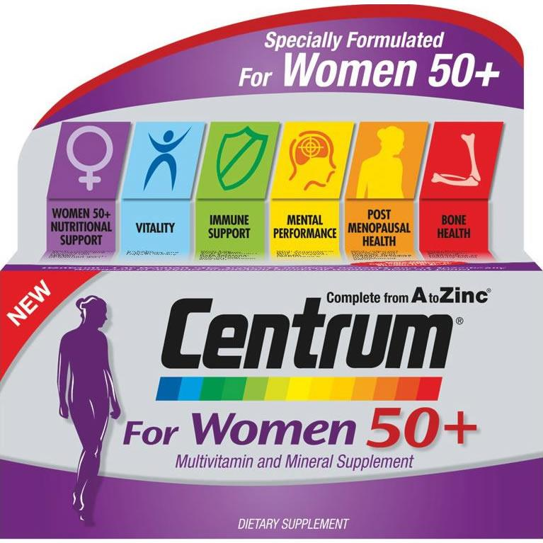 Centrum Women 50+ Tablets Pack of 30