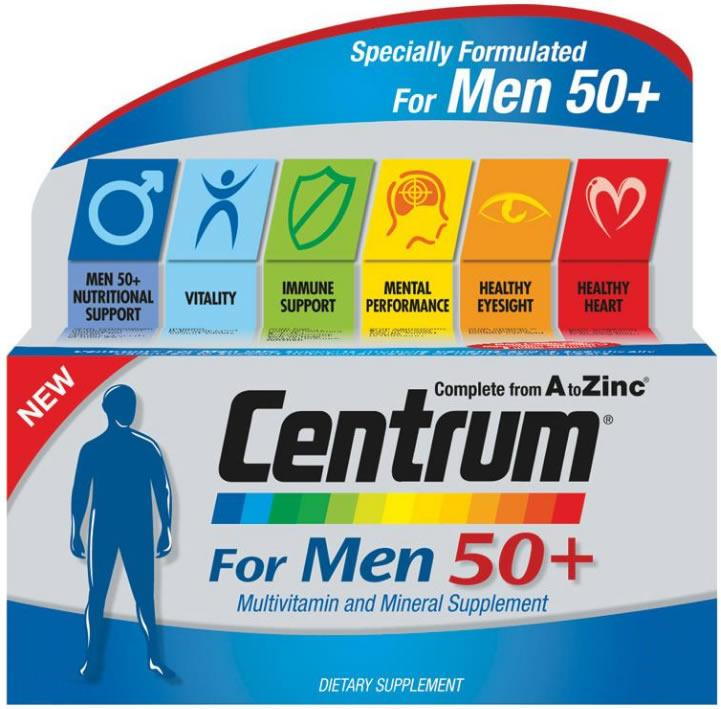 Centrum Men 50+ Tablets Pack of 30