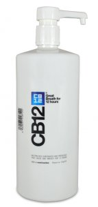 CB12 Safe Breath Oral Rinse Menthol 1 Litre