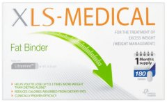 XLS Medical Fat Binder Tablets Pack of 180