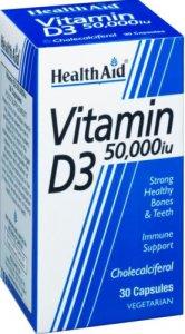 HealthAid Vitamin D3 50,000iu Capsules Pack of 30
