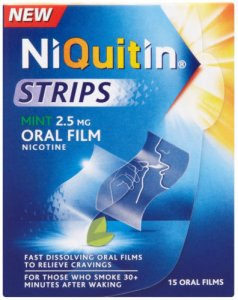 Niquitin Strips 2.5mg Mint Pack of 15