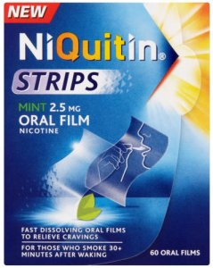 Niquitin Strips 2.5mg Mint Pack of 60