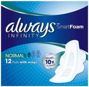 Always Infinity Normal Pack of 12 Pads