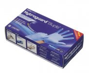 Readigloves Nytraguard Bluple Nitrile Gloves Medium Pack of 100