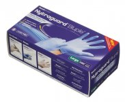 Readigloves Nytraguard Bluple Nitrile Gloves Large Pack of 200