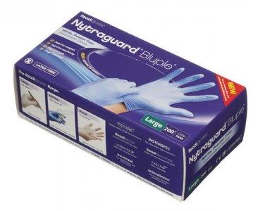 Readigloves Nytraguard Bluple Nitrile Gloves Large Pack of 200