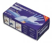 Readigloves Nytraguard Bluple Nitrile Gloves Extra Large Pack of 200
