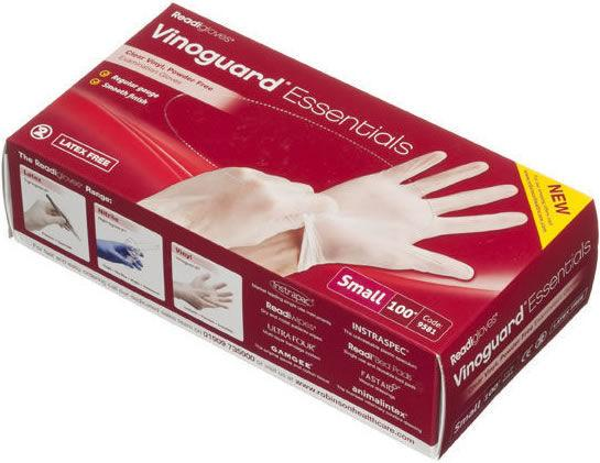 Readigloves Vinoguard Essentials Vinyl Gloves Small Pack of 100
