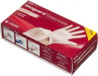 Readigloves Vinoguard Synthetic Vinyl Gloves Medium Pack of 100