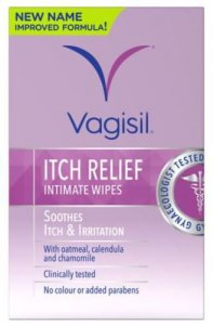 Vagisil Itch Relief Intimate Wipes Pack of 12