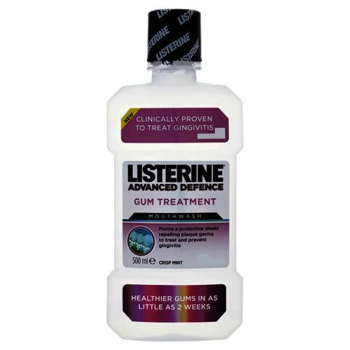 Listerine Advanced Defence Gum Treatment Mouthwash 500ml