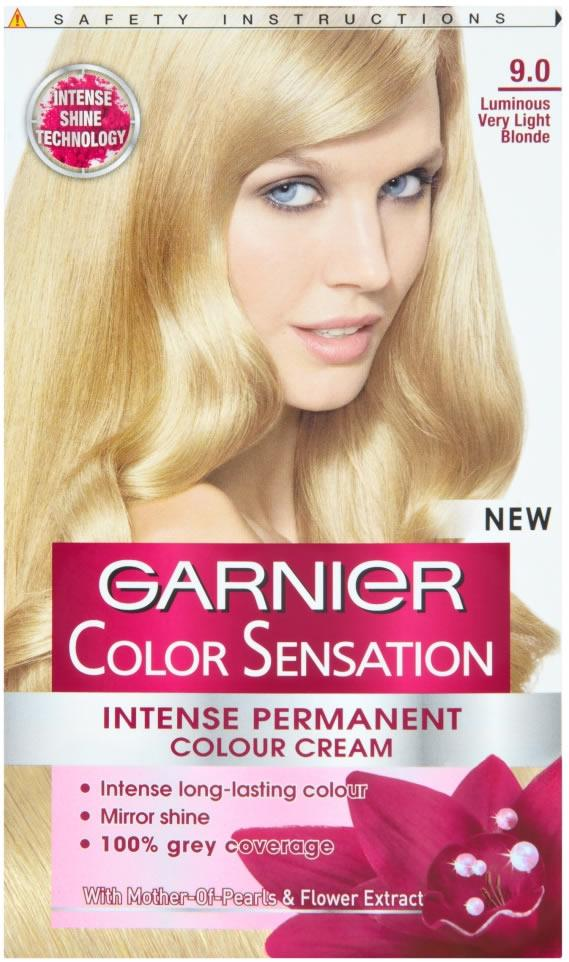 Garnier Colour Sensation Intense Cream Luminous Very Light Blonde 9.0