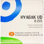 Hyabak UD 0.15% Pack of 30