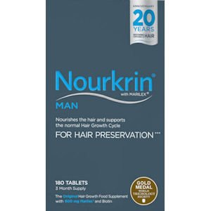 Nourkrin Tablets For Men Pack of 180