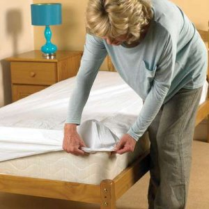 Patterson Medical Waterproof Fitted Bedding Sheet PVC Single