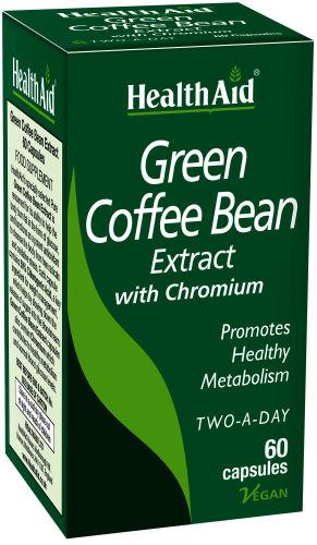 HealthAid Green Coffee Bean Extract Capsules Pack of 60