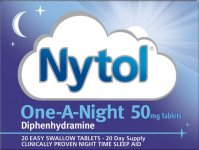 Nytol Tablets One-A-Night Pack of 20