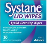 Systane Eyelid Cleansing Wipes Pack of 30