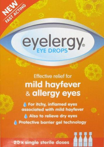 Eyelergy Eye Drops 20 Dose