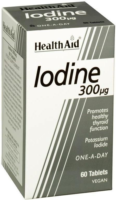 HealthAid Iodine 300μg Tablets Pack of 60