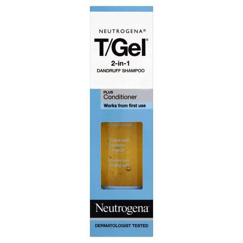 Neutrogena T Gel 2 in 1 Dandruff Shampoo Plus Conditioner 250ml