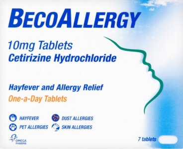 BecoAllergy Hayfever Tablets Pack of 7