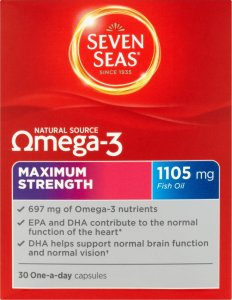 Seven Seas Omega 3 Maximum Strength Capsules Pack of 30