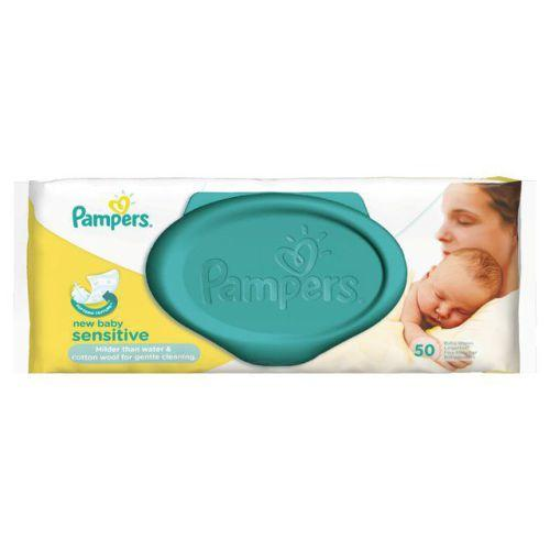 Pampers New Baby Sensitive Wipes Pack of 50