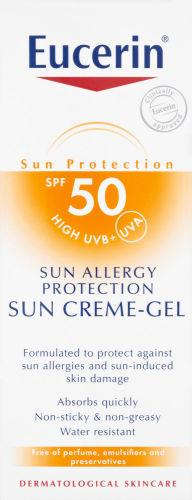 Eucerin Allergy Protection Sun Creme -Gel SPF50 150ml