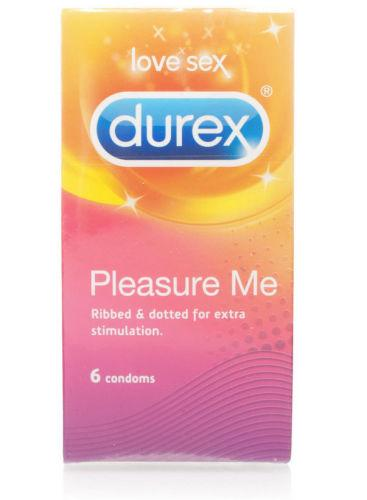 Durex Pleasure Me Condoms Pack of 6