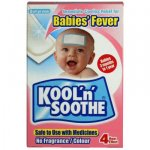 Kool 'n' Soothe Babies' Fever Soft Gel Sheets Pack of 4