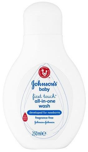 Johnsons Baby First Touch All-In-One Wash 250ml